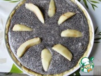 Маковый пирог с грушей ингредиенты