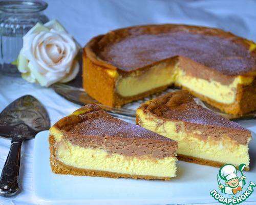 Мраморный сырный торт из Монтаны