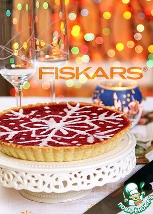 Рецепт Новогодний клюквенный пирог