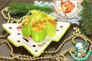 Рецепт Бочонки с золотым пшеном и овощами