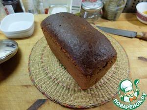 Рецепт Хлеб формовой из грубой муки