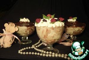 Рецепт Манно-молочный десерт