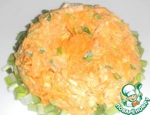 Рецепт Острый салат из тыквы и сыра