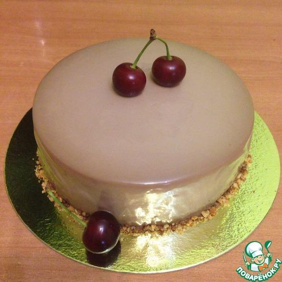 Торт с зефирным суфле фото