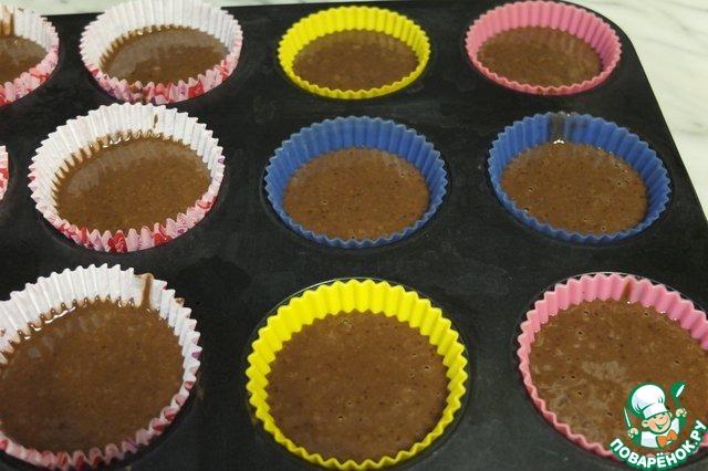 Кексы на сыворотке в формочках