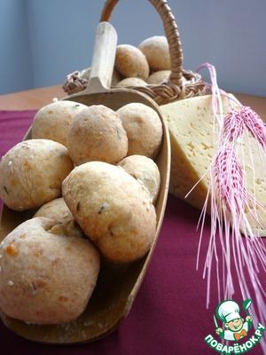 Рецепт Сырное печенье с брынзой