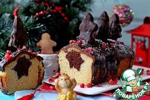 Рецепт Рождественский кекс с сюрпризом