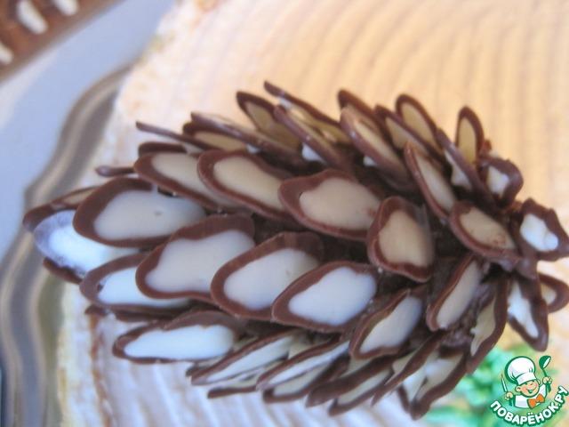 Рецепт торта шишка пошагово с фото