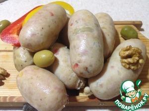 Рецепт Сардельки домашние с зернами горчицы