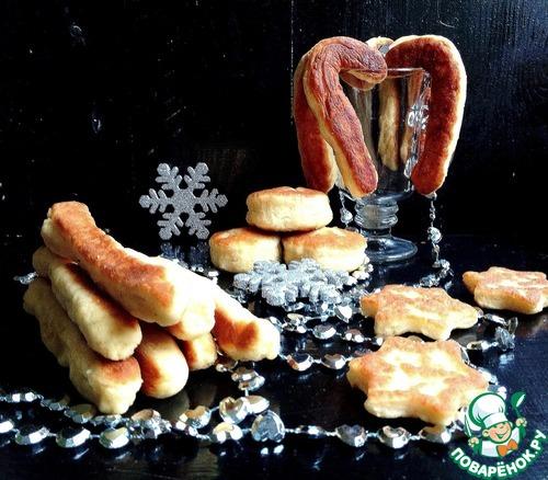 """Жареное печенье """"Новогоднее"""""""