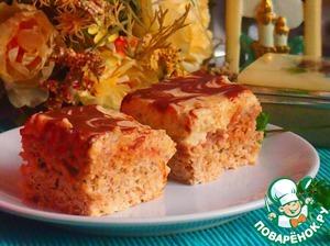 Рецепт Яблочный пирог с ореховым кремом