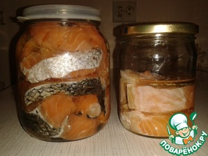 Рецепт Малосольная красная рыба быстрого приготовления