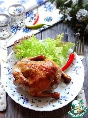 Рецепт Порционные фаршированные цыплята