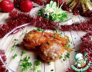 Рецепт Гречаники с луком в томате