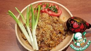 Рецепт Баранина с рисом