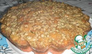 Рецепт Кекс из халвы с арахисом