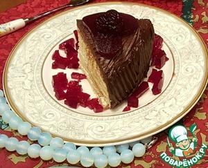 Рецепт Вафельный торт для мамы