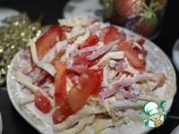 """Салат """"Рождественский вечер"""" ингредиенты"""