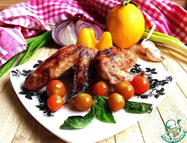 крылышки в духовке с соусом терияки рецепт