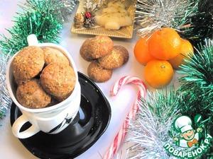"""Рецепт Рождественское печенье """"Орех и Перец"""""""