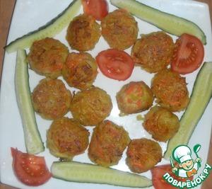 Рецепт Драники сырно-картофельно-морковные