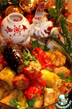 Рецепт Овощная долма