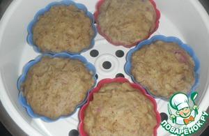 Рецепт Гречневые кексы на пару
