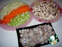 """Сельдь с грибами """"Новогодний каприз"""" ингредиенты"""