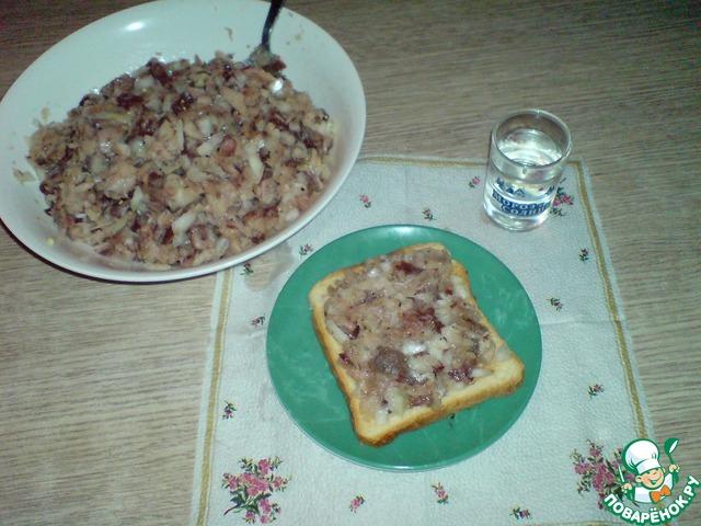 Строганина пошаговый рецепт с