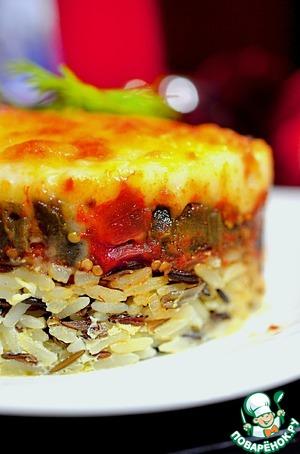 Рецепт Мусака из баклажанов с рисом