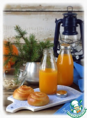 Рецепт Тыквенный сок