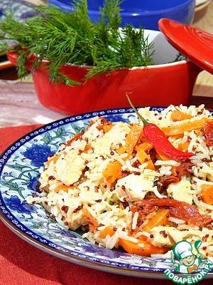 Рецепт Пряная курица с морковью в мультиварке