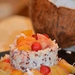 Гавайский пудинг с рисом и киноа