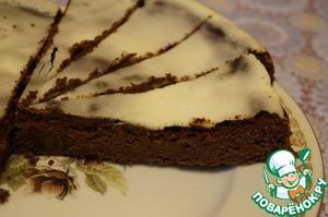 Рецепт Французский шоколадный пирог