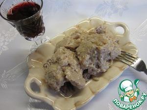 Курица в ореховом соусе вкусный рецепт приготовления с фото