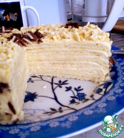 низкокалорийный торт рецепт