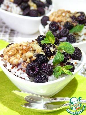 Рецепт Каша-десерт из смеси риса и киноа