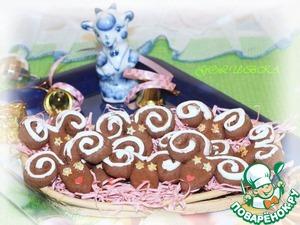 """Рецепт Печенье """"Шоколадные барашки"""""""