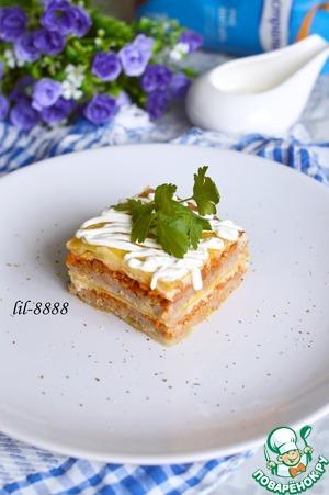 Рецепт Капустная лазанья или голубцы по-итальянски
