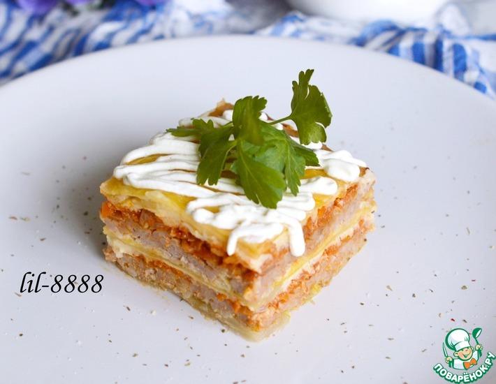 Рецепт: Капустная лазанья Голубцы по-итальянски