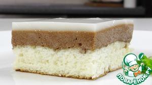Рецепт Бисквитное слоеное пирожное