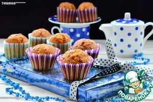 Рецепт Кексы с печеньем и карамельным соусом