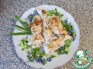 Рецепт Диетическая куриная грудка в кефире