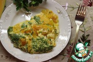 Рецепт Австрийский омлет из тыквы