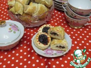 Рецепт Рогалики с вишневым повидлом