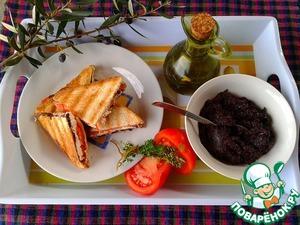 Готовим простой рецепт приготовления с фото Оливковая паста с каперсами и вялеными томатами