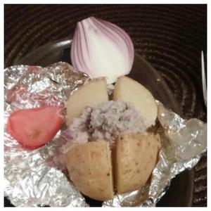 Рецепт Картошка с селедочным соусом