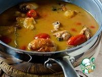 Курица с диким рисом и томатами черри ингредиенты