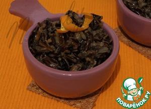 Рецепт Дикий рис с чесночным соусом