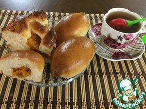 Рецепт Пирог и пирожки с курагой
